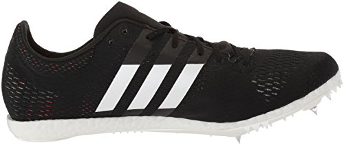 adidas Adizero Avanti Track Shoe Core Black, Ftwr White, Orange