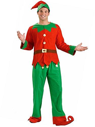 (Forum Novelties Women's Simply Elf Costume, Multi, One Size)