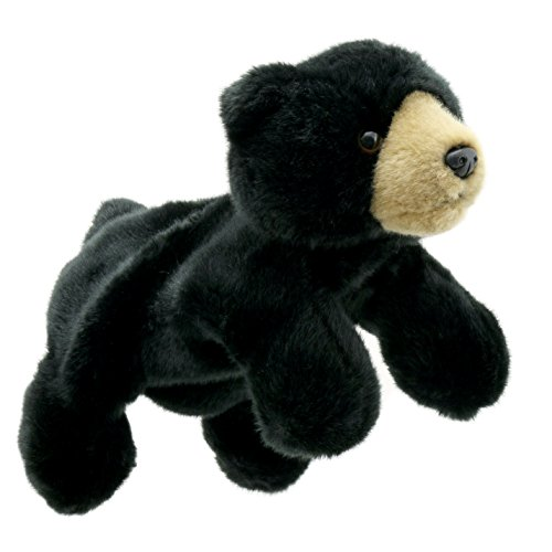 The Puppet Company Full-Bodied Animal  Hand Puppets Black Bear