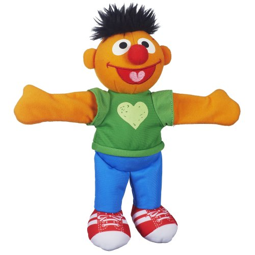 Playskool Sesame Street Ernie Hugs Forever Friends Figure (Sesame Street Stuffed Animals)