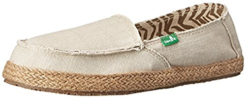 Sanoff Womens Fiona Loafers & Oxy Shoe Cleaner Bundle Natural