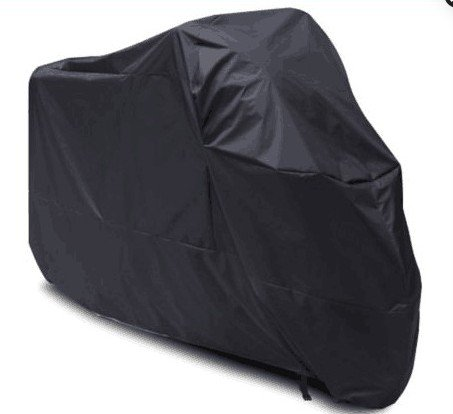 Atpmtas Black All weather cover Motorcycle cover Waterproof Sun UV Dustproof for All Scooter and Mopeds-Yamaha Honda Suzuki Kavasaki Ducati BMW (XXL) (Yamaha Motorcycle Cover compare prices)