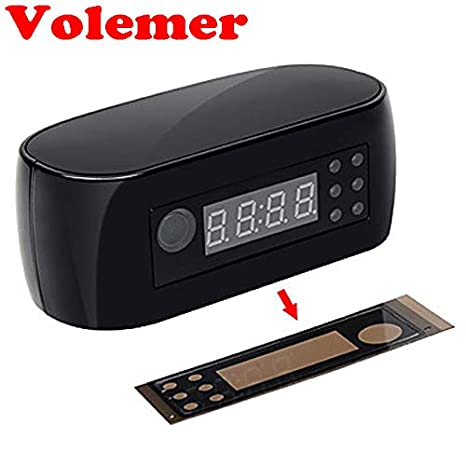 Amazon.com : WiFi Camera Alarm Clock with Motion Detection ...