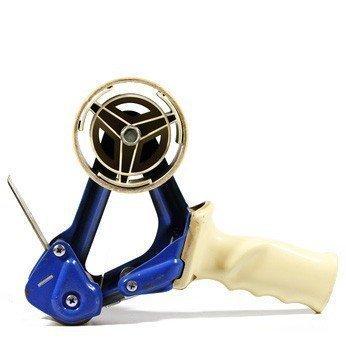 profi dispensador de mano de rollos de celo adhesivo con freno y carcasa de metal. calidad profesional: Amazon.es: Oficina y papelería
