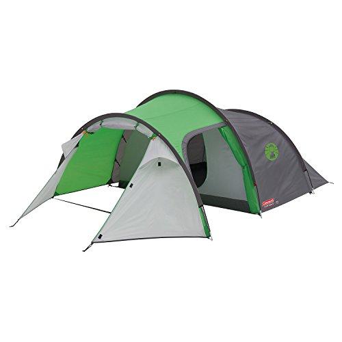Coleman Cortes 3 Camping Tent, Green/Grey