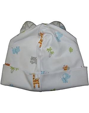 Baby-Boys Infant Safari Stroll Print Hat