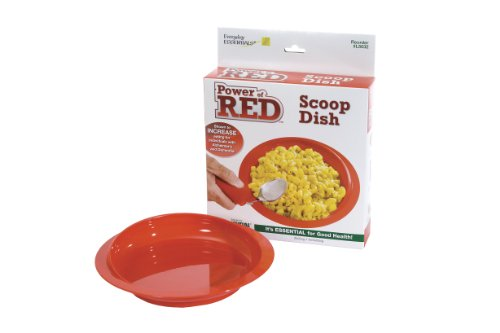 Essential Medical Supply Power of Red Scoop Dish for Alzheimers and Dementia