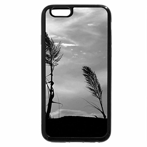 iPhone 6S Plus Case, iPhone 6 Plus Case (Black & White) - Stand in the wind