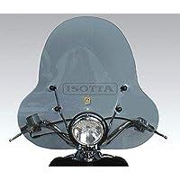 Parabrisas Isotta SC2932+A128 Compatible con Aprilia Habana Custom