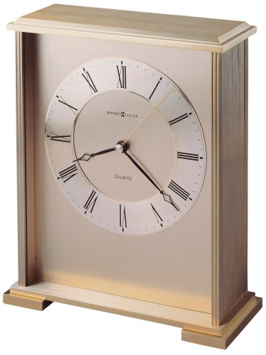 Howard Miller 645-569 Exton Table Clock (Carriage Style Table Clock)