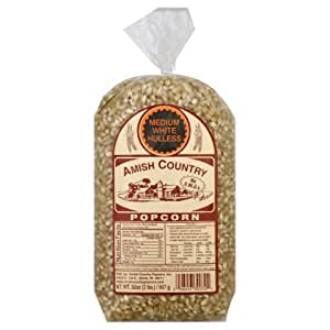 Amish Country Popcorn Popcorn White, 32-Ounce (Pack of 8)