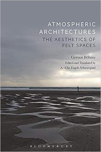 Atmospheric Architectures The Aesthetics of Felt Spaces