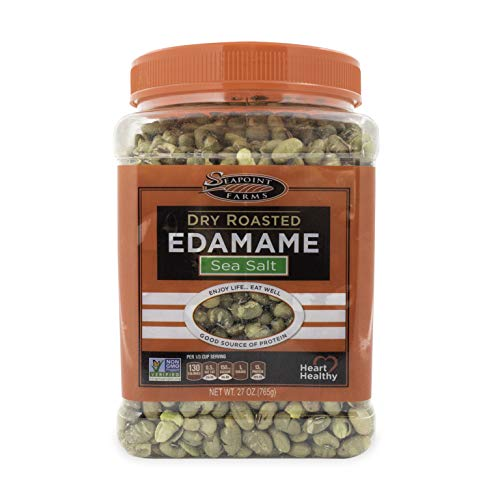 (Seapoint Farms Sea Salt Dry Roasted Edamame, Healthy Gluten-Free Snacks, 27 oz)