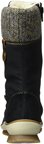 Graphit Mogano R4371 Remonte 02 Boots Snow Nero schwarz Donna Sxg07