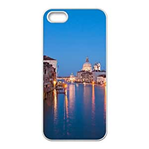 iPhone 4 4s Cell Phone Case White Venice at night Xjfjc