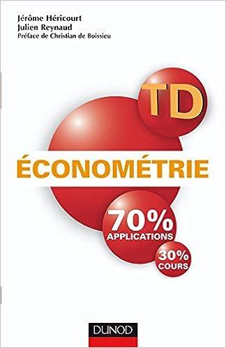 Econometrie Cours Epub