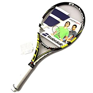 babolat 2013 2015 aeropro drive gt tennis racquet 4 1 4 toys games. Black Bedroom Furniture Sets. Home Design Ideas