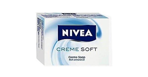 Amazon.com: Nivea Creme suave Bar Jabón – Caso de 12 PCS X ...