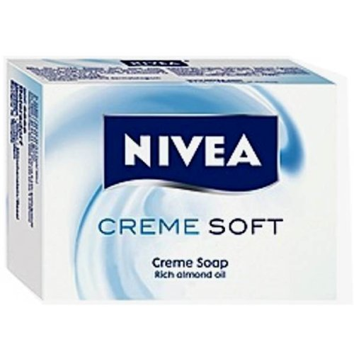 Nivea Creme Soft Bar Soap - Case of 12 pcs x 100g ea. (100g Soap Bar)
