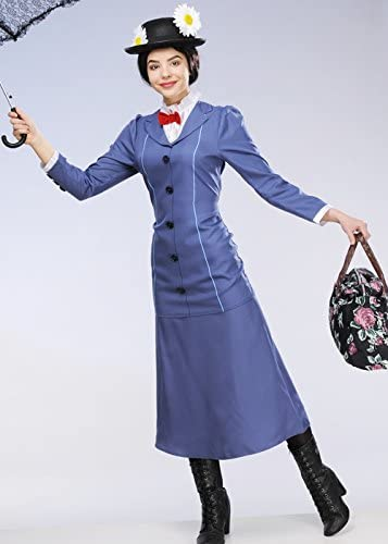 Magic Box Damas Adultas Mary Poppins Costume Large (UK 16-18 ...