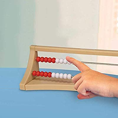 hand2mind 20-Bead Plastic Rekenrek, Math Counting Frame (Ages 4+): Industrial & Scientific