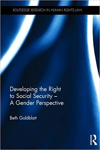 Book Developing the Right to Social Security - A Gender Perspective (Routledge Research in Human Rights Law)