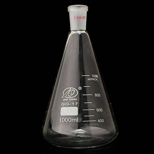 KINGSO Scientific Erlenmeyer Laboratory Glassware