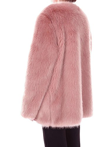 Pinko Pelz Antigua Rosa Mujer Eco 6v1Hr6O8