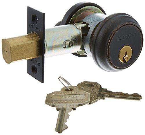 Baldwin Hardware 8031.412 Deadbolt Lock