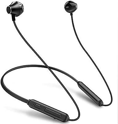 Lu Auriculares Bluetooth, Auriculares inalámbricos Impermeables, Sonido estéreo HD 9H batería cancelación de Ruido Auriculares, inalámbrico Sport ...