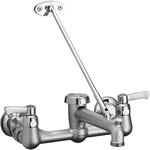 Elkay LKB940C Commercial Wall Mount Faucet with Bucket Hook