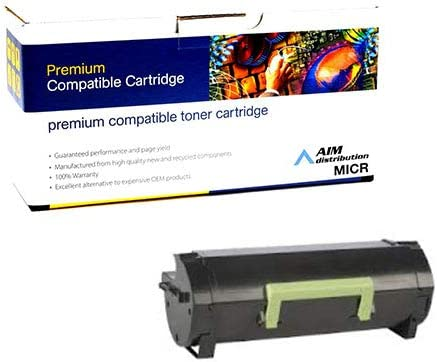 AIM Compatible MICR Replacement for Innovera IVRMS710M MICR Toner Cartridge Generic - Compatible to Lexmark 52D0HA0 25000 Page Yield