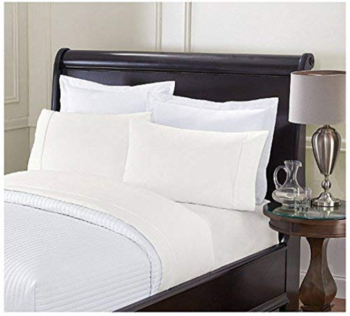 London Fox Soft Touch King Sheet Set - Ivory
