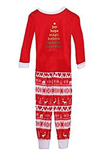 5968bfa69 Q Y Christmas Kids Mom Dad Two Piece Striped Matching Family ...