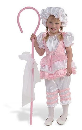 [Princess Paradise Little Bo Peep Toddler/Child Costume Pink Small (6)] (Little Bo Peep Costume Toddler)