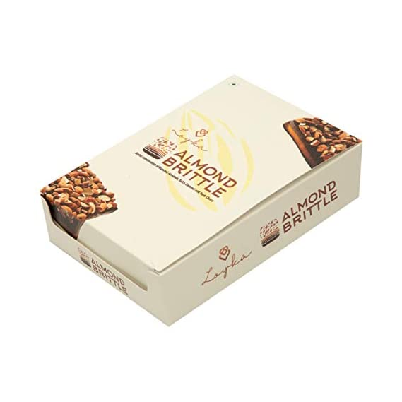 August Assortments Almond Brittle (Now LOYKA Almond Brittle)-Sinful Combination Salty Caramel, Dark Choco and Roasted