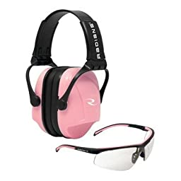 Radians T71P/Mp22 Ear Muff Combo Kit, Clear Lens