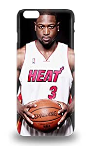 Iphone 6 Plus Hybrid Tpu 3D PC Soft Case Cover Silicon Bumper NBA Miami Heat Dwyane Wade #3 ( Custom Picture iPhone 6, iPhone 6 PLUS, iPhone 5, iPhone 5S, iPhone 5C, iPhone 4, iPhone 4S,Galaxy S6,Galaxy S5,Galaxy S4,Galaxy S3,Note 3,iPad Mini-Mini 2,iPad Air )