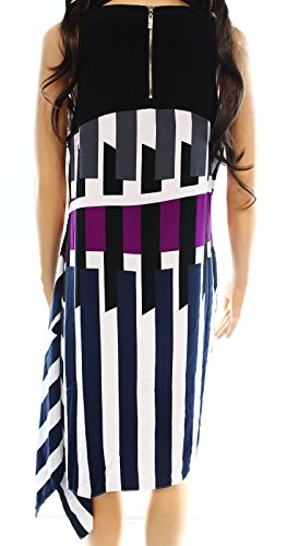 Alfani Printed Pieces Asymmetrical Alfani Printed Asymmetrical Dress Geo Dress vwqwdF1