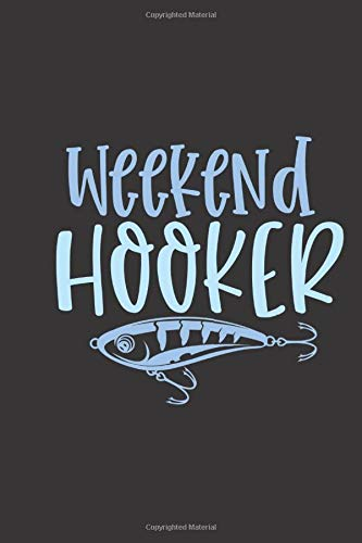 buy weekend hooker small lined fishing quotes notebook travel
