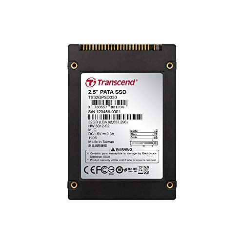 32GB Transcend PSD330 2.5-inch IDE Internal SSD Solid State Disk (MLC - Solid Pata State Drive