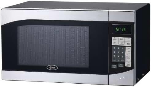 Oster Am980ss 0.9-Cubic Foot, 900-Watt Countertop Microwave Oven