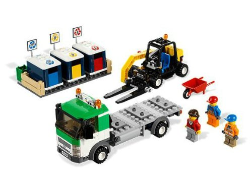 LEGO City 4206 Recycling Truck Regoshitigomi collection vehicles overseas limited (japan import) (Truck City Lego Recycling)