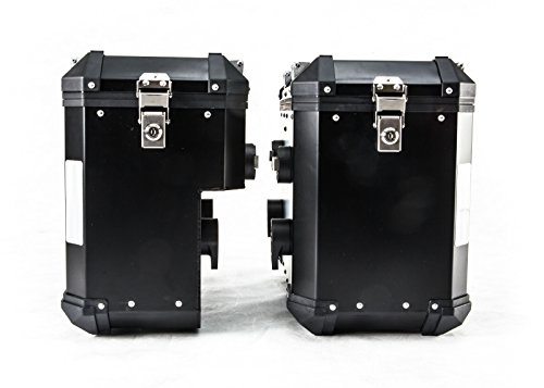 Brooks Pannier system Black (Left + Right Bags) for BMW R1200GS (2013-18)