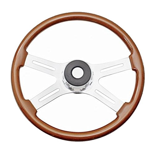 4 spoke wood grain steering wheel - 6