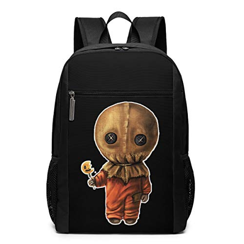 Adult Backpack Sam Trick 'R Treat Halloween Bookbag Schoolbags Laptop Bag Travel Bag
