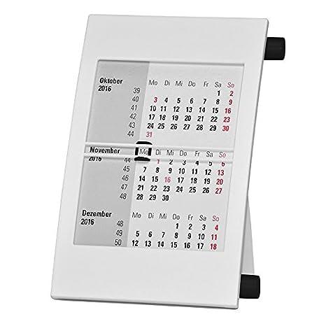 Calendario Trimestrali.Truento Calendario Da Tavolo Trimestrale Per 2 Anni 2018 E