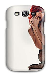New Snap-on Annie T Crawford Skin Case Cover Compatible With Galaxy S3- Rihanna