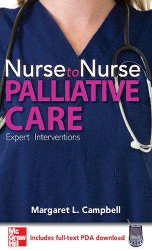 Nurse to Nurse Palliative Care: Palliative Care Pdf