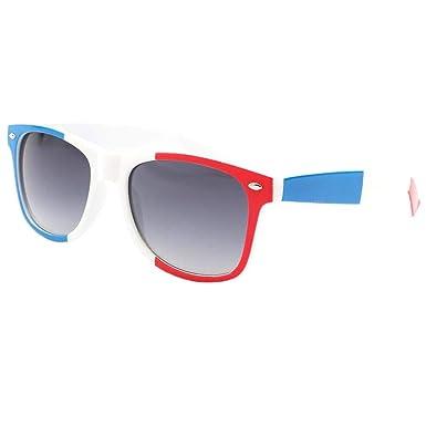 Eye Wear Lunettes de soleil France Bleu Blanc Rouge Mixte